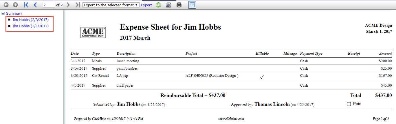 Myreports Expense Sheet Html.png